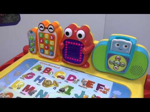 VTECH Touch & Learn Activity Desk Deluxe ~ Toy Fair 2016