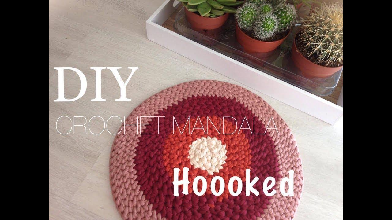 crochet mandala hoooked zpagetti diy 1
