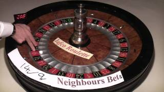 Roulette Wheel with Extra Long Ball Boun...