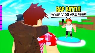 i-rap-battled-my-haters-i-got-roasted-roblox