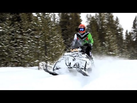 2013 Arctic Cat XF1100 Turbo CrossTour Snowmobile Review