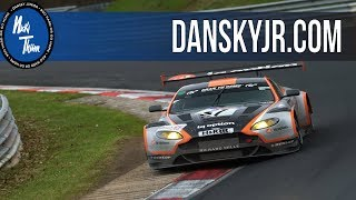 Onboard Aston Martin GT3 | Nicki Thiim | Nürburgring Nordschleife | The Beautiful Sound of a V12