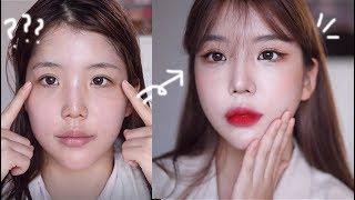 Eng 리프팅효과?!눈성형메이크업 (ft.처진눈매교정,…