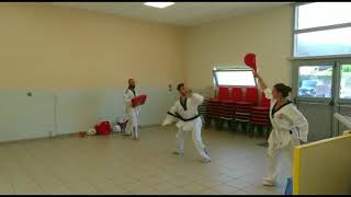 Démonstration de Taekwondo à Chirens (Dragons Team Taekwondo)