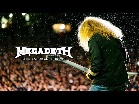 Megadeth - Latin American Tour 2016