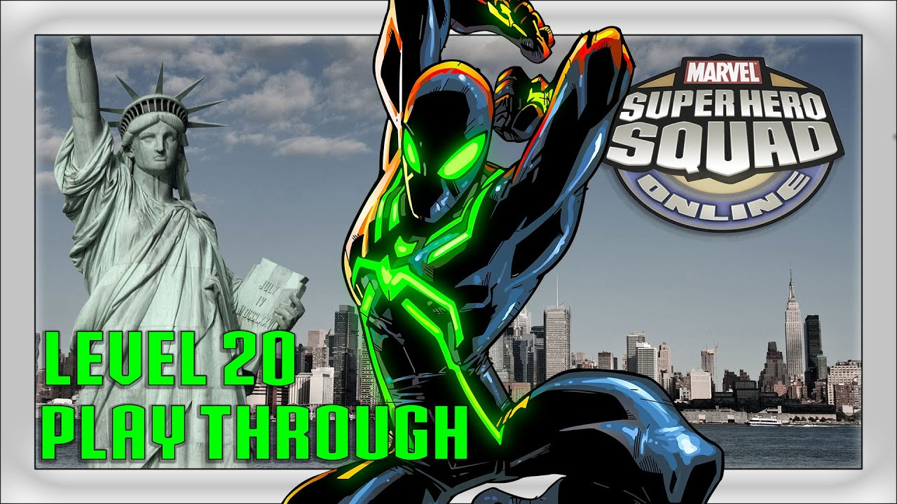 Super Hero Squad - A free Multiplayer Game