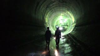 豪雨から都市を守れ 東京の巨大地下施設をゆく