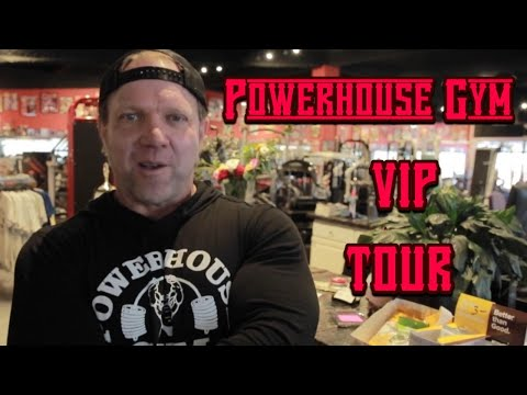 Dave Fisher Tours His Powerhouse Gym In Torrance, California