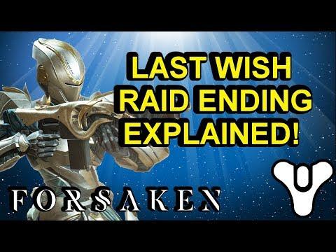 Last Wish Raid Ending Explained Destiny 2 Forsaken Part One   Myelin Games