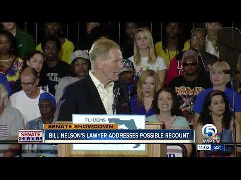 Bill Nelson's lawyer says gap closing in close Florida Senate race