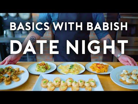 Date Night Dinner   Basics with Babish