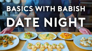 Date Night Dinner | Basics with Babish