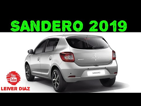 24ea26bc9d2 Renault Sandero Exclusive 2019 ✅🚙