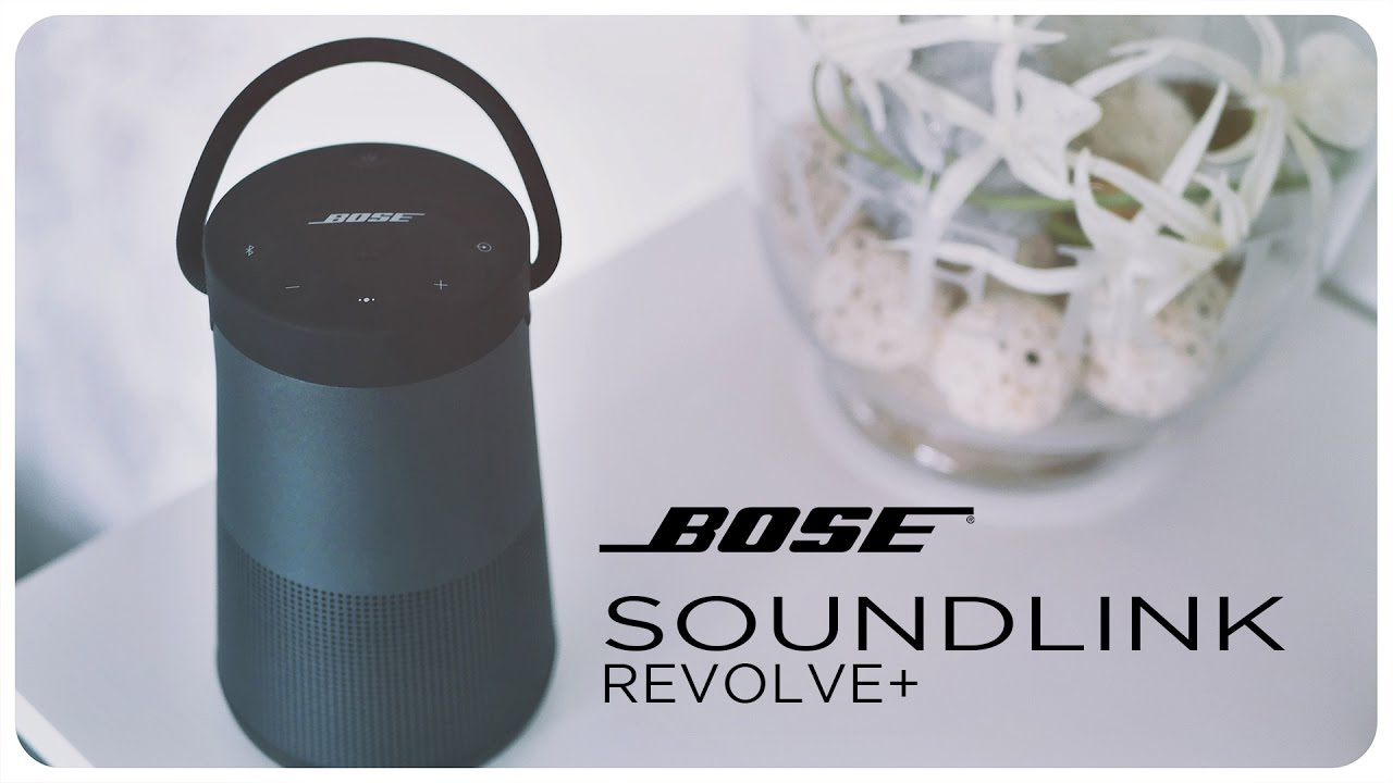 bose soundlink revolve plus 360 grad lautsprecher unboxing und ersteindruck deutsch youtube. Black Bedroom Furniture Sets. Home Design Ideas