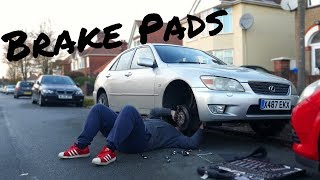 Brake Pad Replacement   Lexus IS200