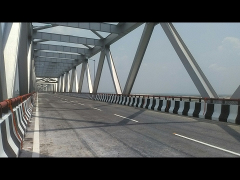 11 JUNE SE HO GAYA SHURU J P SETU NEW WAY OF PATNA TO SONPUR HAJIPUR ETC DEVELOPMENT OF BIHAR INDIA
