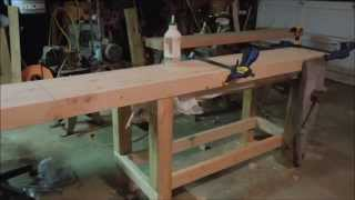 Building A New Workbench Part 8 - Assembling The Benchtop - By Old Sneelock's Workshop