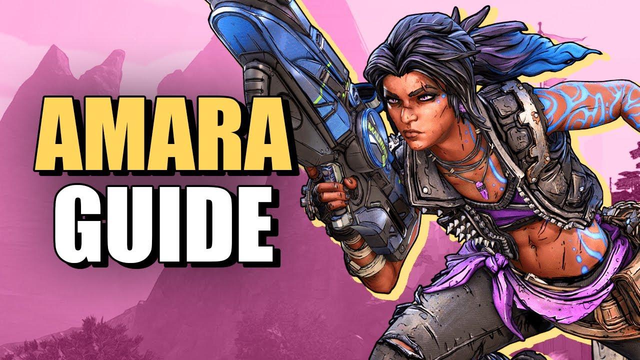 Borderlands 3 Amara Guide: Character Builds And Skills thumbnail