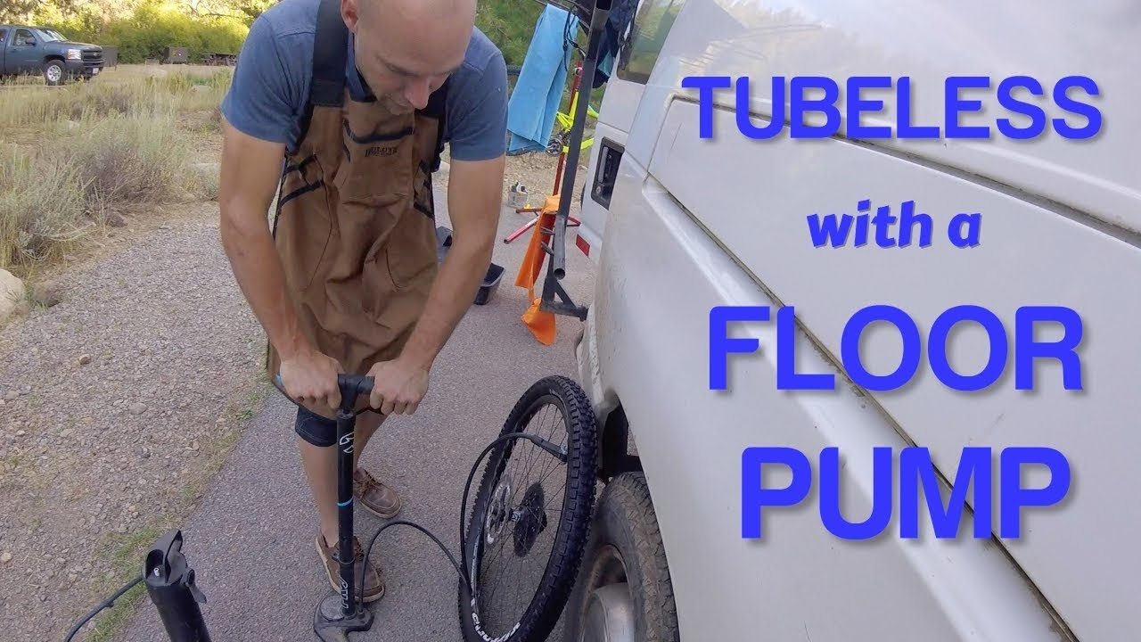 How To Install Tubeless Tire With A Floor Pump Without Using An