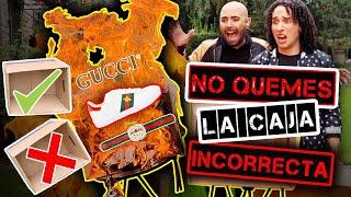 No QUEMES la caja INCORRECTA MUY CARO LOS RULES - Jorge Anzaldo - Diego Cardenas