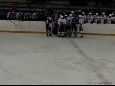 PJHL Highlight - Daniel Delbianco puts out a flame
