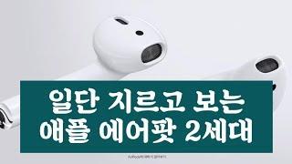 일단 질렀어요 애플 에어팟 2세대 apple airpo…