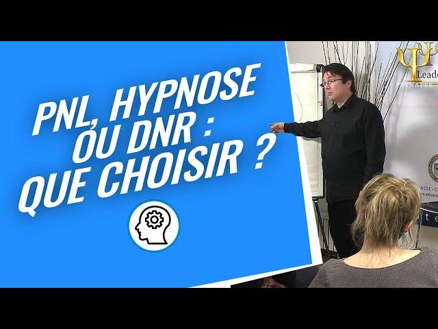 Formation Hypnose, PNL et DNR : Dans quels contextes utiliser ces outils?