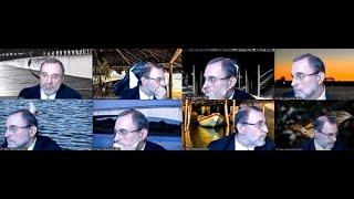 Ministro Sebastião troca várias vezes de plano de fundo durante sessão