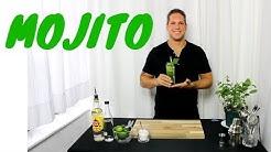 Das Mojito Rezept Original, Mojito Cocktail selber machen und richtig zubereiten. Cocktail mit Rum
