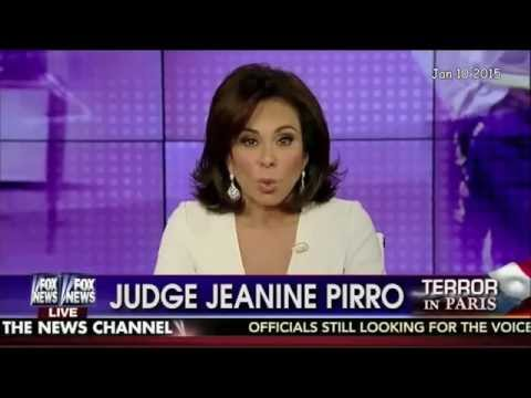 """""""Judge"""" Jeanine Pirro and Dr.Spaceman"""