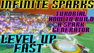 Sparks Unlimited Disney Infinity 2.0 XP Level Up Fast - How to Build By DisneyToyCollector