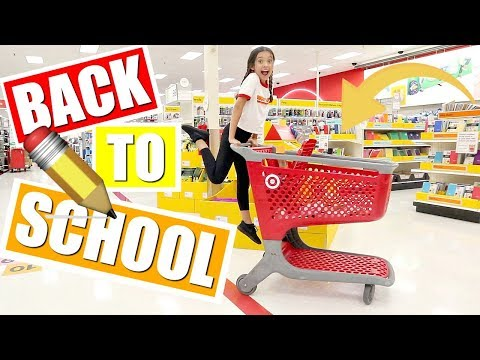 BACK TO SCHOOL shopping at TARGET 🎯   School Supplies 📓GIVEAWAY ✨