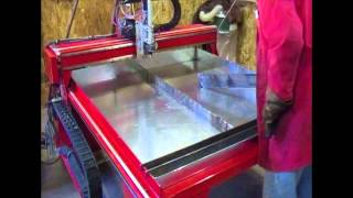 Cnc Plasma Table - Dynatorch Super B 4 X 4 Water Table Build
