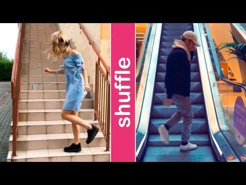 Shuffle Stairs Dance Challenge