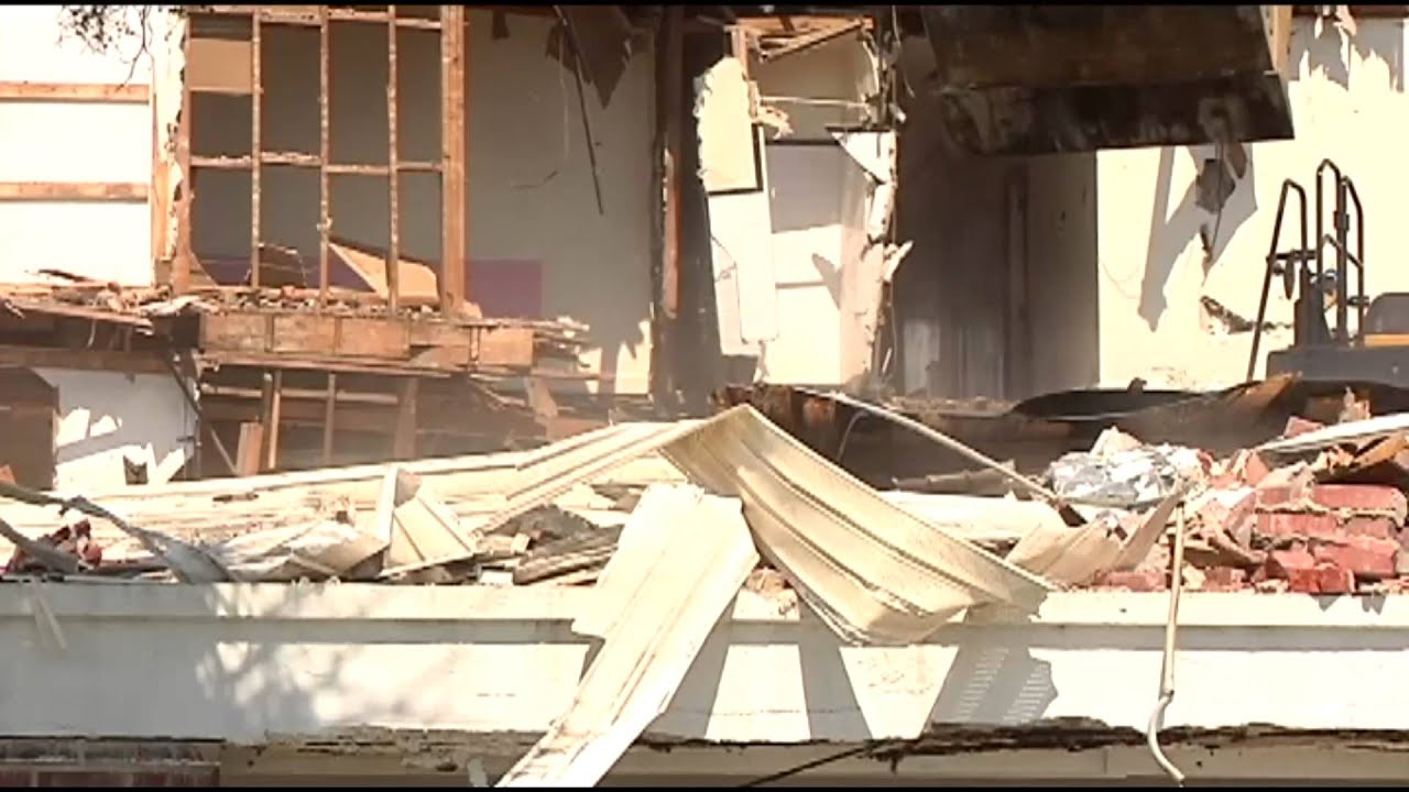 Historic Myrtle Beach Hotel Demolished