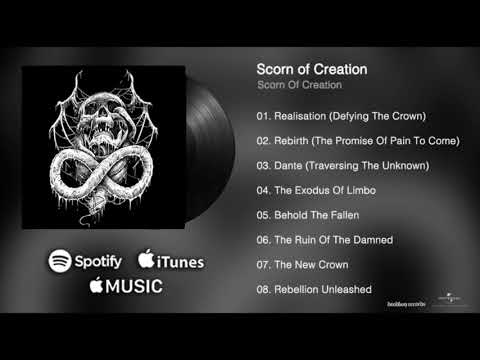 Scorn Of Creation - Full Album 2018 - Self Titled Debut (NZ Death Metal)