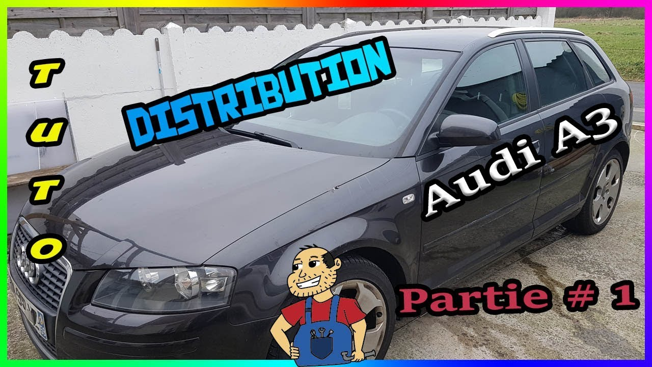 tuto remplacer sa courroie de distribution audi a3 sportback 2l tdi 140cv partie 1 youtube. Black Bedroom Furniture Sets. Home Design Ideas