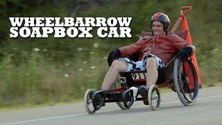 DIY Wheelbarrow Soapbox Car