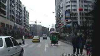 Chong Qing, China 2002 - Part 3 - Traffic - Suburbs