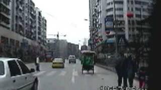 Chong Qing, China 2002 - Part 3 - Traffic - Suburbs