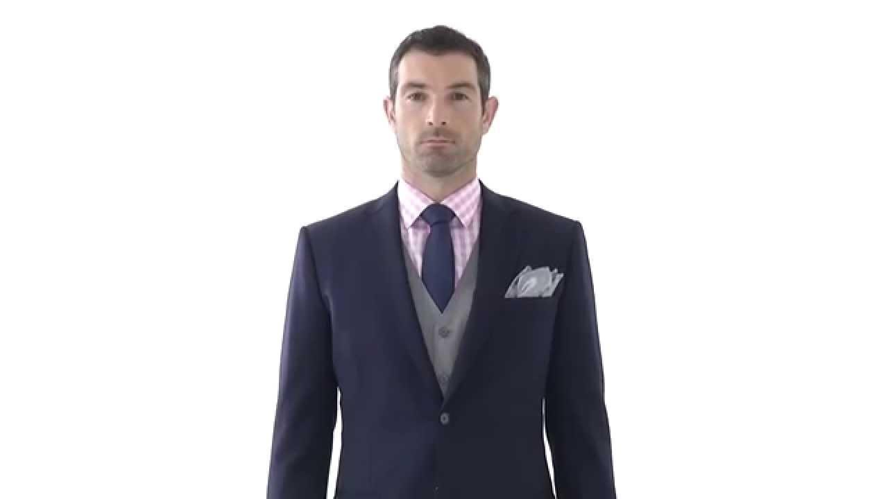 Tailor made light grey waistcoat youtube