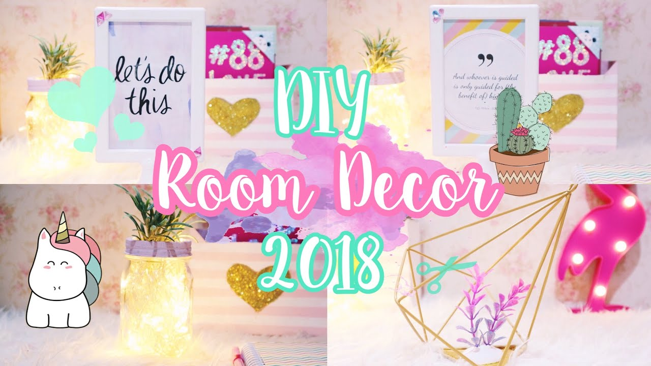 3 Diy Room Decor Indonesia Simple Easy 4 Youtube