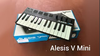 Alesis V Mini - Unboxing & Mini Review