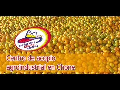 Centro de acopio agroindustrial en Chone