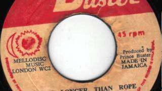 TIME LONGER THAN ROPE - PRINCE BUSTER