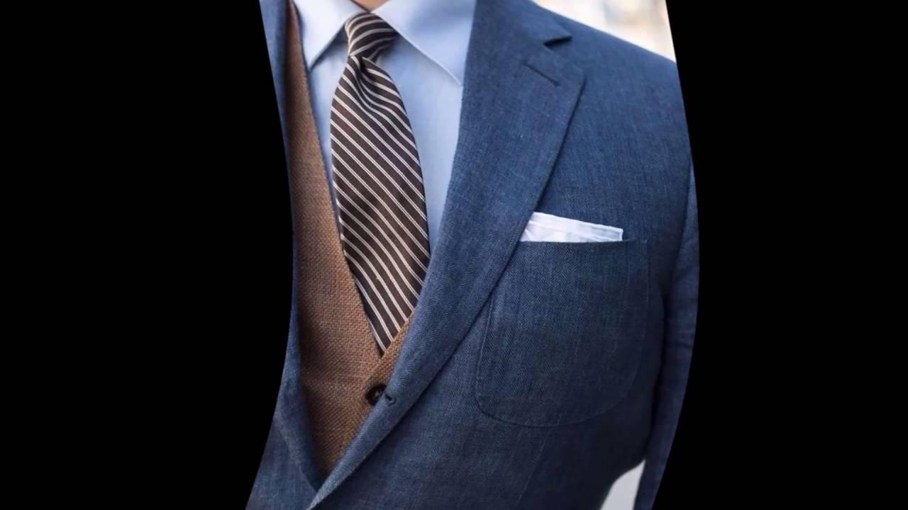 как складывать платок в пиджак на свадьбу