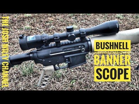 Bushnell Banner 3-9X40 Review [Dusk & Dawn Multi-X Rifle Scope]