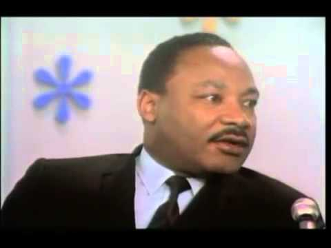 Dr.Martin Luther King Jr Interview about injustice & marching