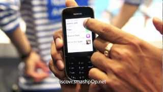 Nokia Asha 202 Hands-On Preview [HD]