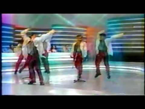 Sam Rosa - TV Manchete - Raul Gil - 1º dia